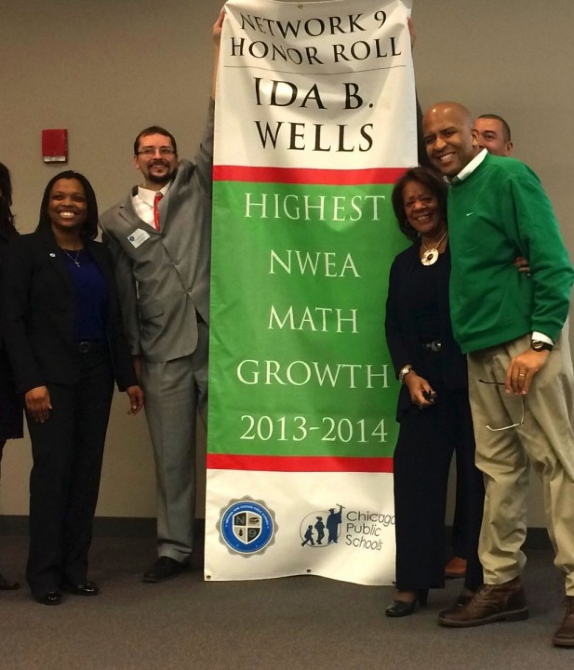 Highest NWEA Math growth 2013 – 2014