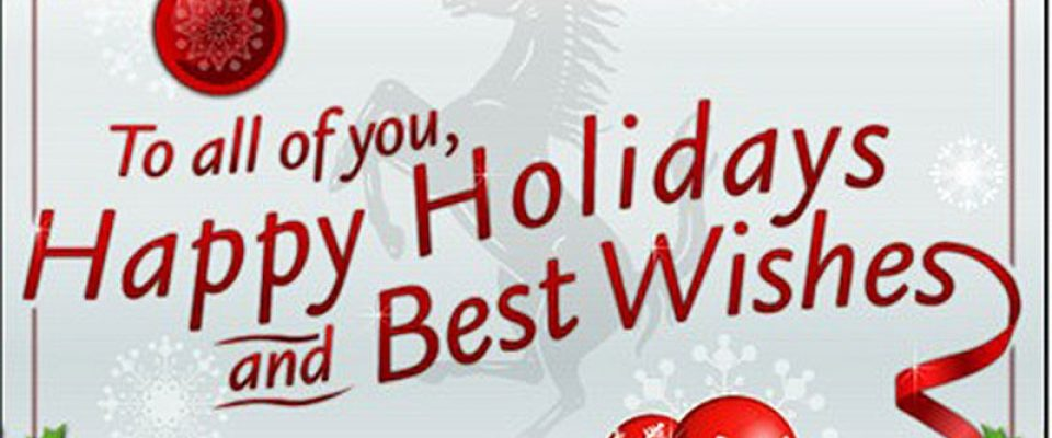 Have a safe and happy holiday